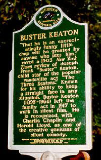 Buster Keaton Historical Marker