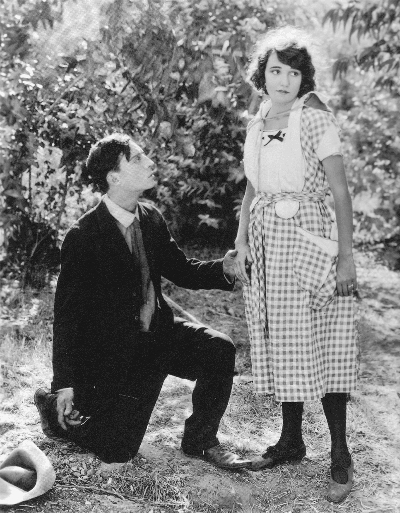 Buster Keaton and Sybil Seely in The Scarecrow, 1920
