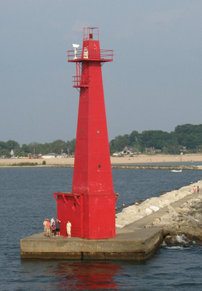 Muskegon Pere Marquette Lighthouse