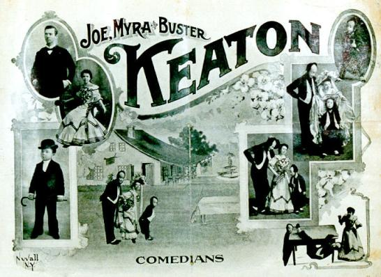 The Three Keatons - Joe, Myra and Young Buster