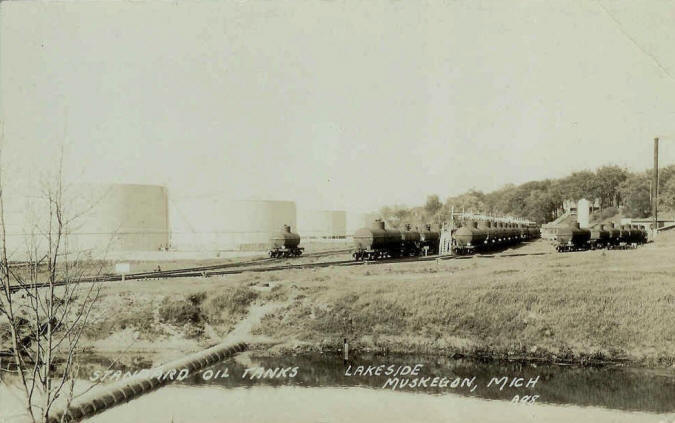 Standard Oil Tanks - Muskegon